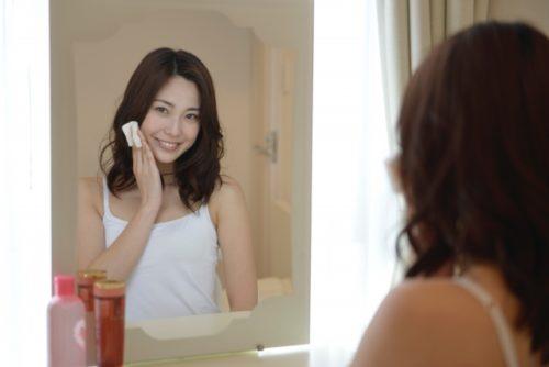 美容鍼後はぐんぐん染み込む化粧水
